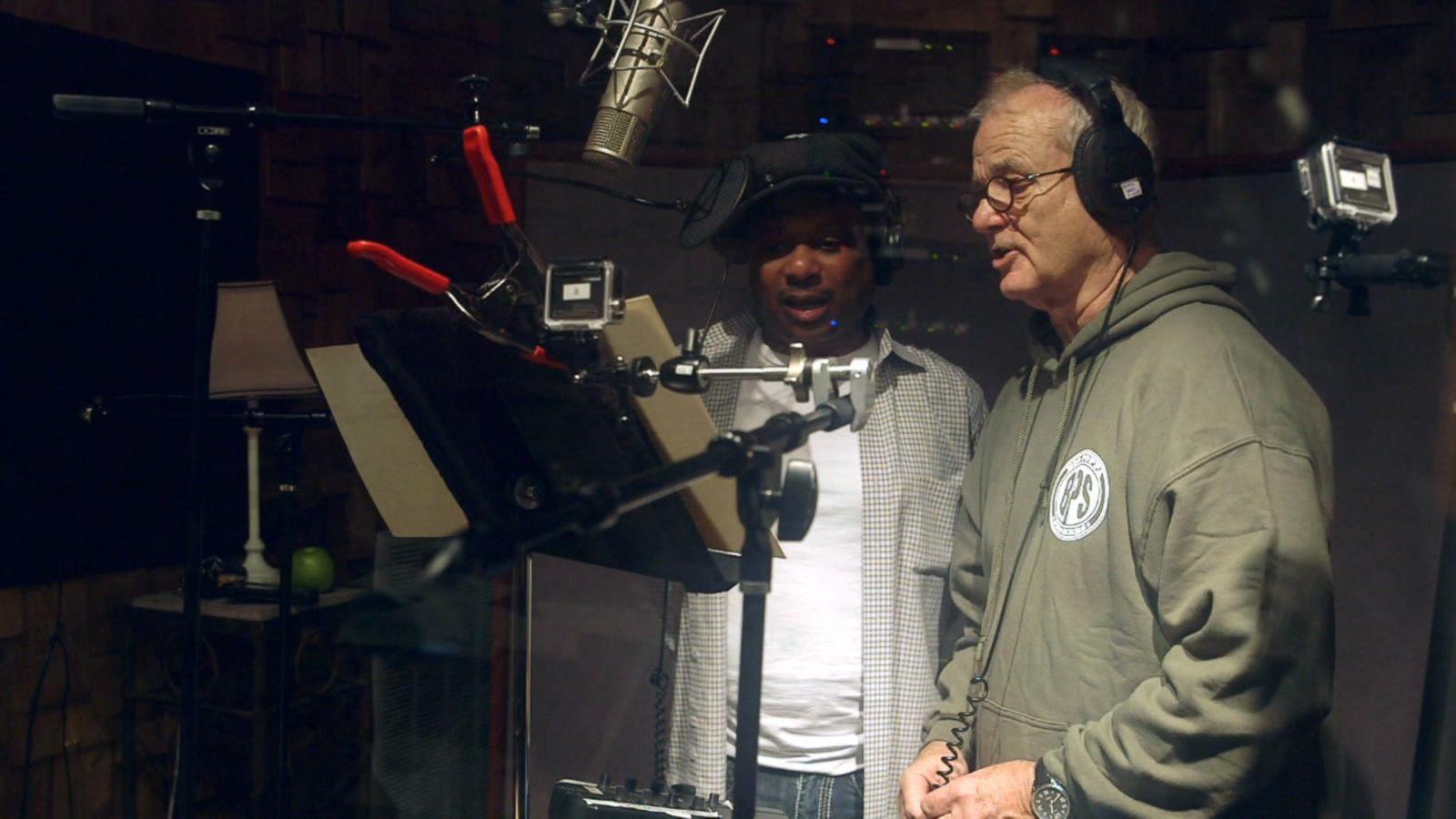 VIDEO: Bill Murray Sings as Baloo in 'The Jungle Book' Recording Studio