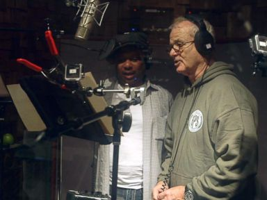 VIDEO: Bill Murray Sings as Baloo in The Jungle Book Recording Studio