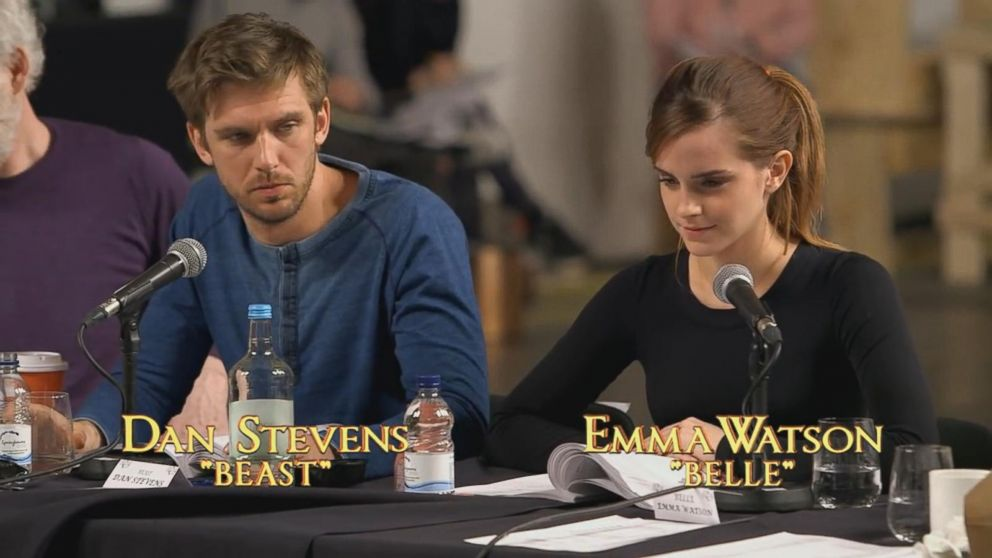 Behind The Scenes Look At Emma Watson As Belle In Live Action Beauty And Beast Video