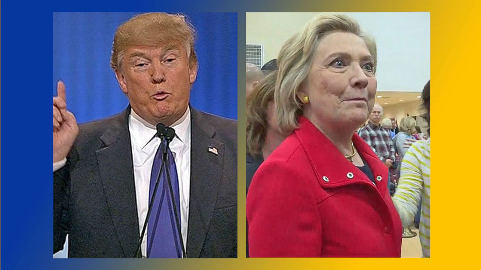 VIDEO: Hillary Clinton, Donald Trump Prepare for First Debate