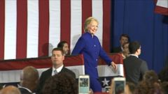 VIDEO: Trump, Clinton Leave Campaign Trail for Debate Prep