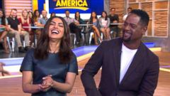 VIDEO: Priyanka Chopra and Blair Underwood Talk Quantico Premiere