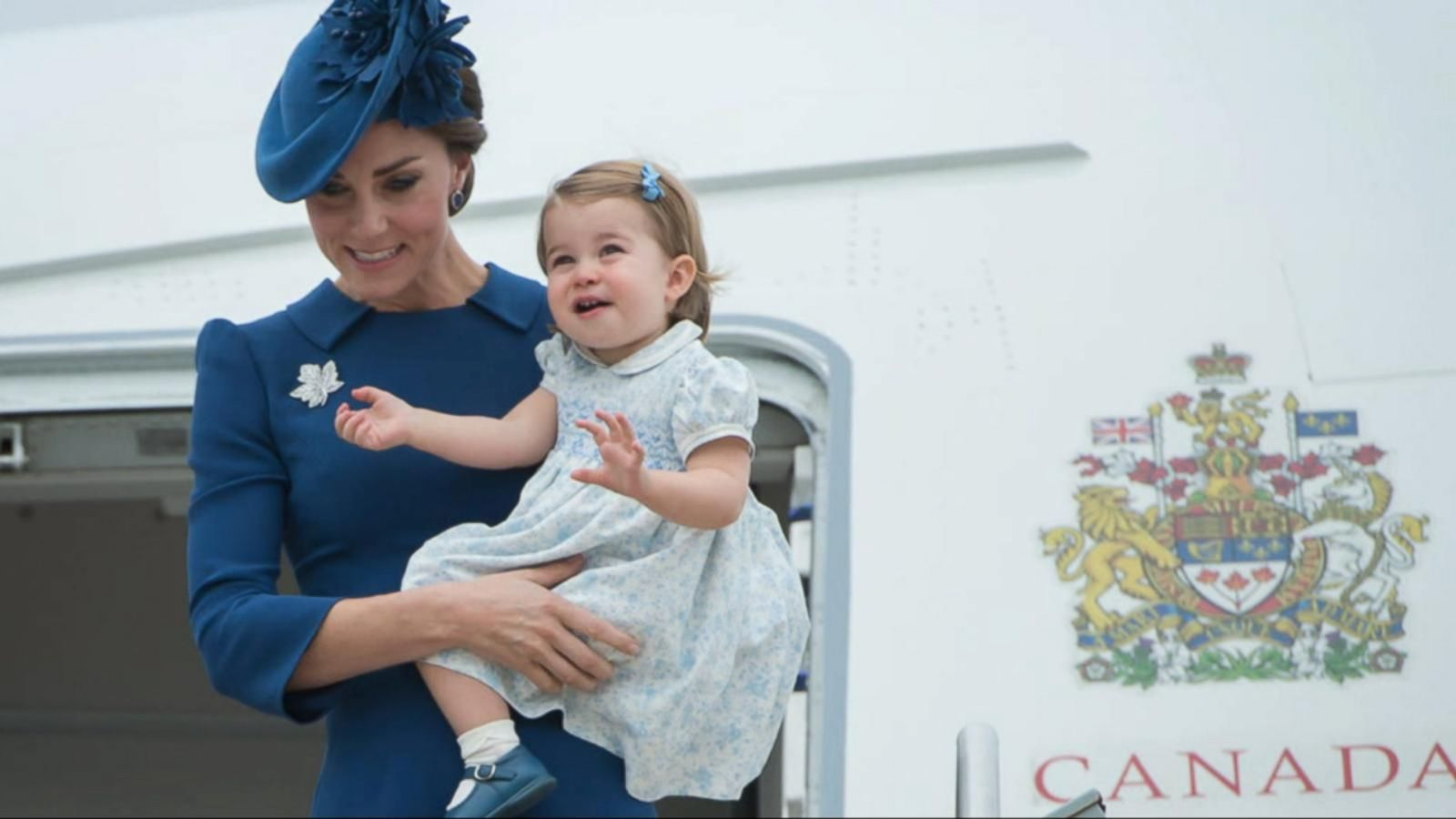 VIDEO: William and Kate Make Royal Landing in Canada