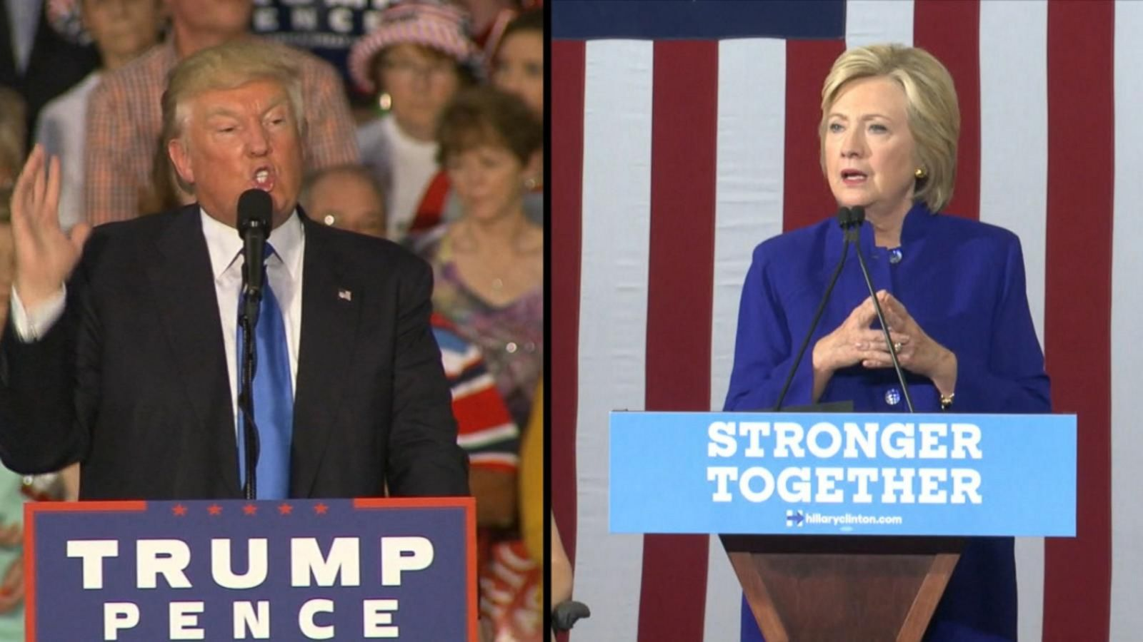 VIDEO: What to Watch at 1st Hillary Clinton, Donald Trump Debate