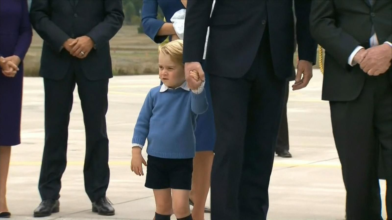 VIDEO: Royal Road Trip: William, Catherine and Kids Hit Canada