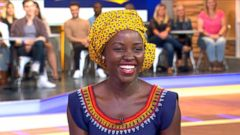 VIDEO: Queen of Katwe Star Lupita Nyongo Visits GMA