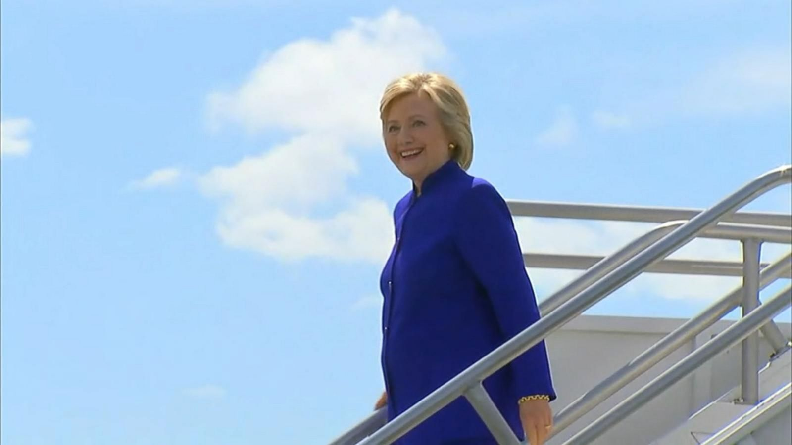 VIDEO: Hillary Clinton Prepares for 35th Presidential Debate