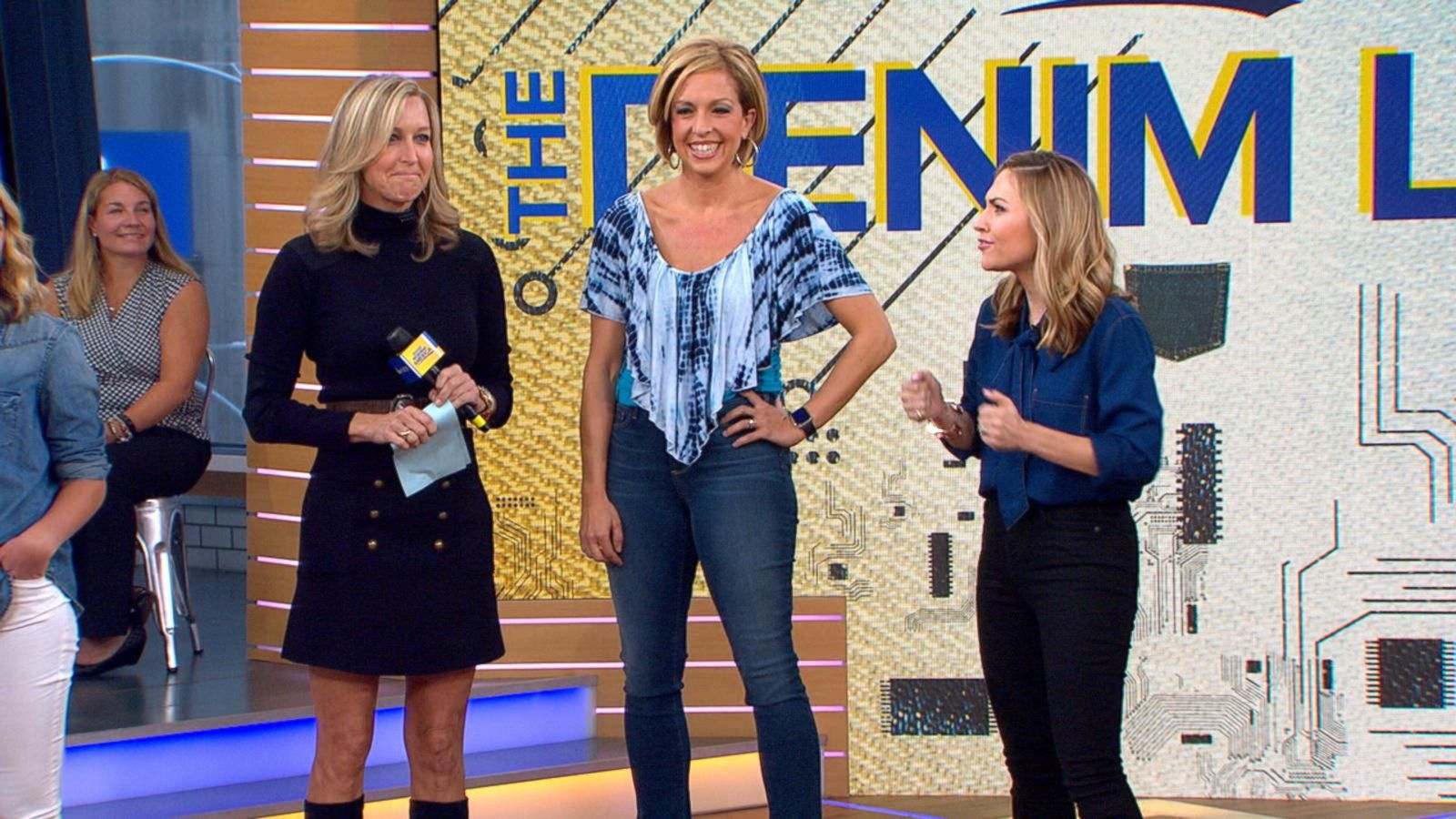 VIDEO: 'Jean-ius': 'GMA' Tries Innovative New Denim Technology