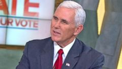 VIDEO: Gov. Mike Pence on Donald Trumps Debate Performance