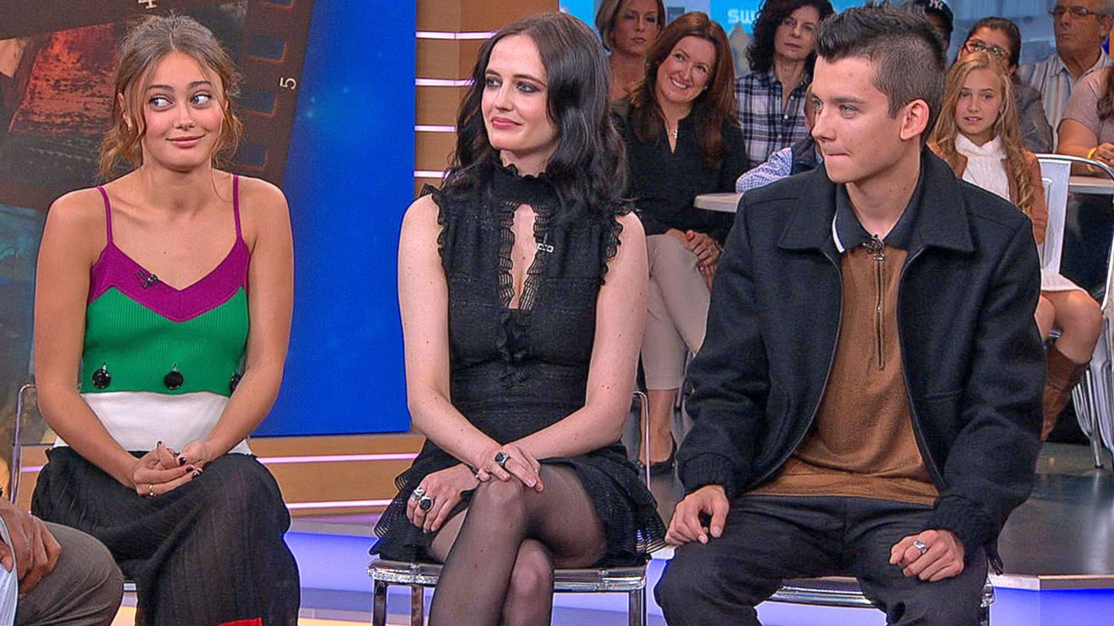 VIDEO: Stars of 'Miss Peregrine's Home for Peculiar Children'