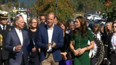 VIDEO: Latest Highlights From Kate and Williams Canada Tour