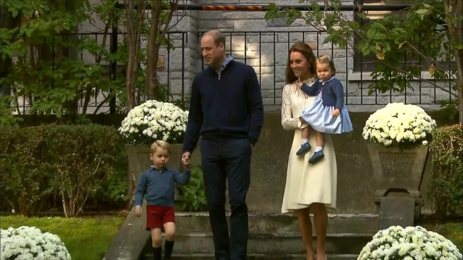 VIDEO: Prince George, Princess Charlotte Make Royal Appearance