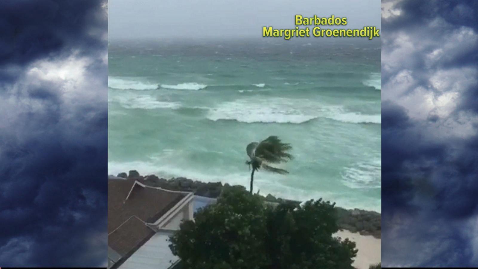 VIDEO: Tropical Storm Matthew Strengthens in Atlantic