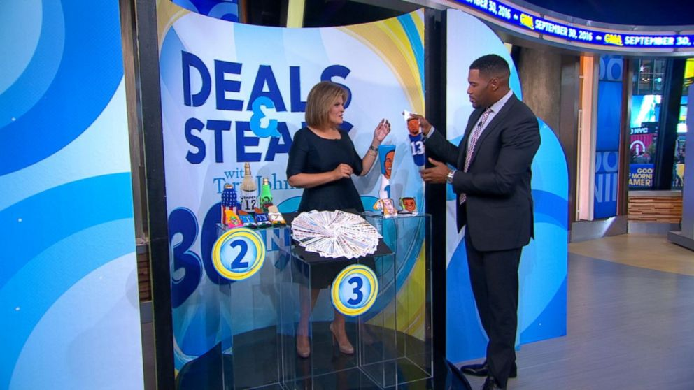 Good Morning America Deals And Steals September 2014 : Deals and steals on september video abc news