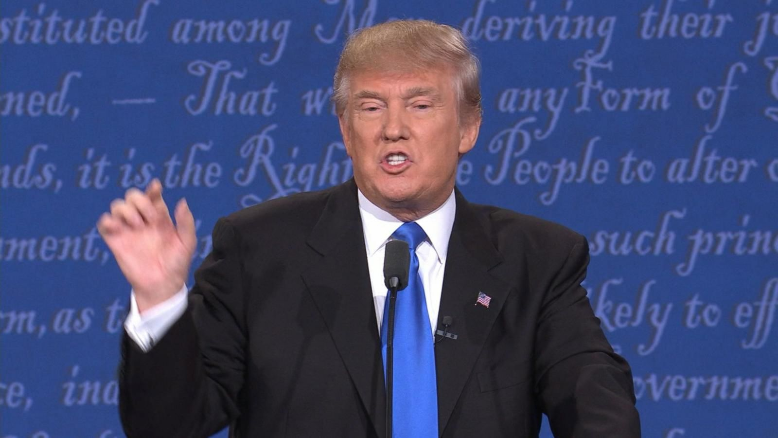 VIDEO: Donald Trump Changes Reaction to 1st Debate