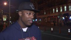 VIDEO: Hero Comforted Lone Fatality in NJ Train Crash