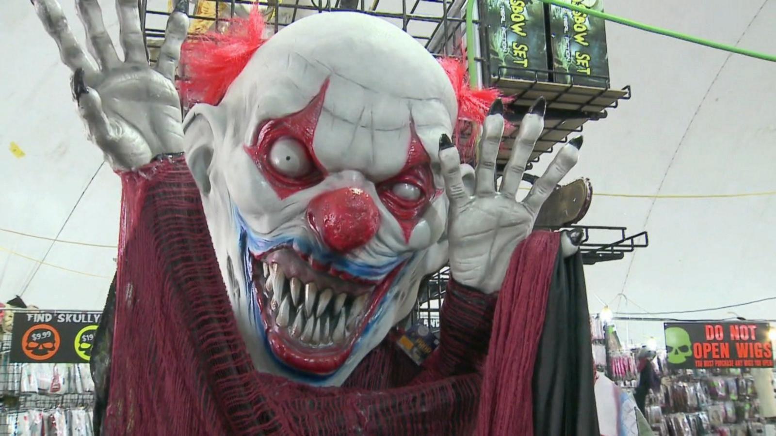 VIDEO: Target Pulls Clown Masks from Shelves Ahead of Halloween
