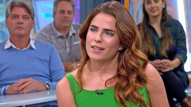 How to get away with murder cast member joins gma live in times htgawm star karla souza dishes on shocking episode the actress who plays laurel castillo on the abc hit series how to get away with murder ccuart Image collections