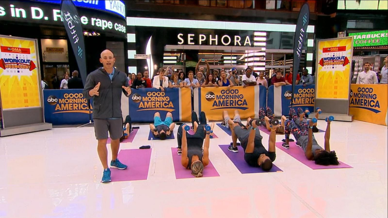 VIDEO: 'Workout Wednesday' With Harley Pasternak