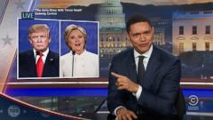 VIDEO: Late Night Hosts Take Aim at Donald Trump, Hillary Clinton