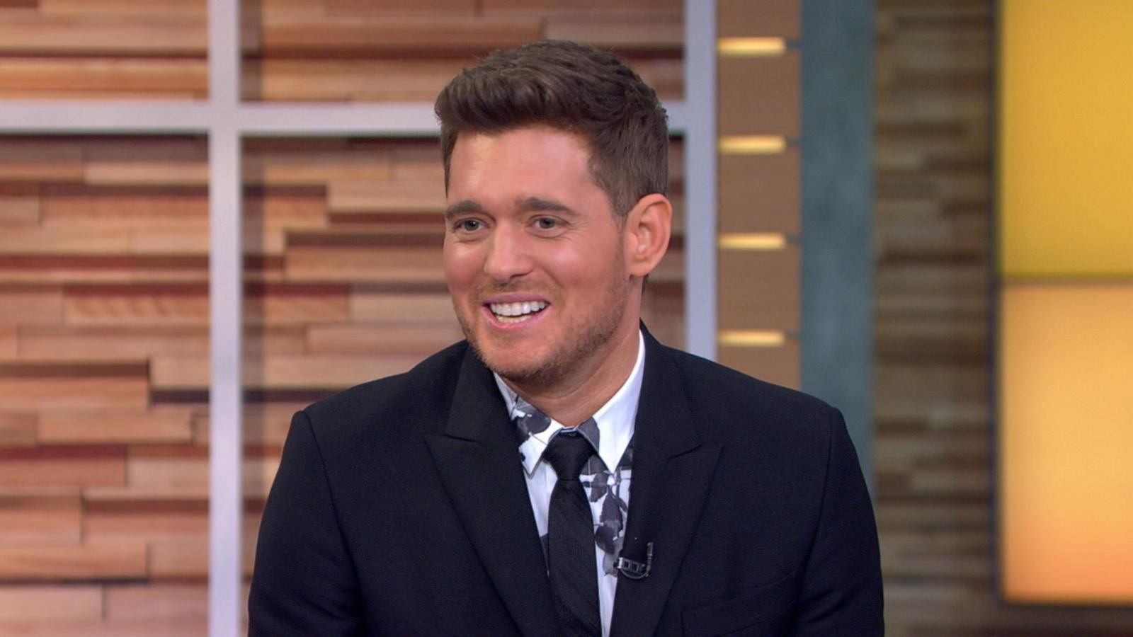 VIDEO: Michael Buble Visits 'GMA'