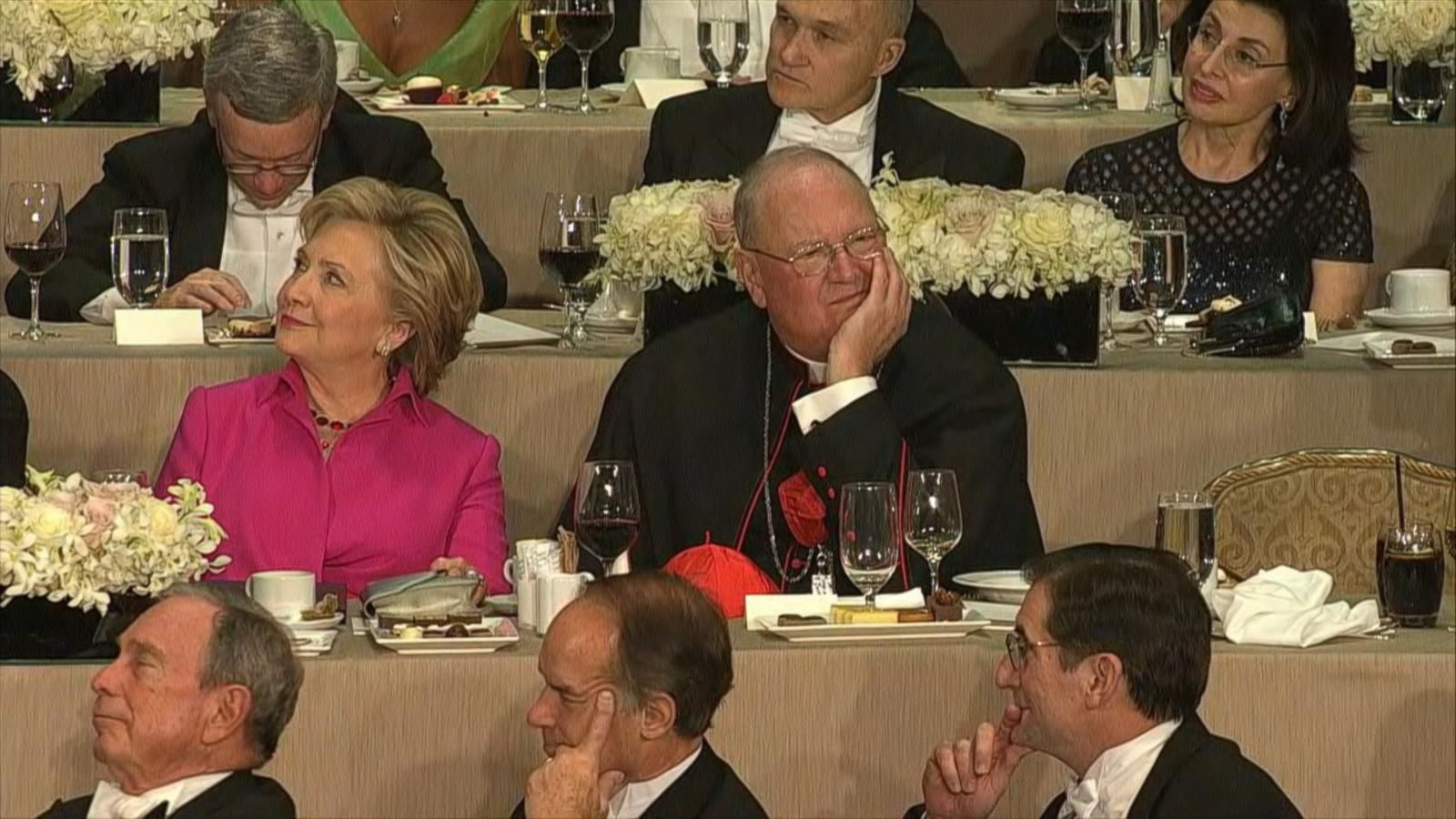 VIDEO: Donald Trump, Hillary Clinton Trade Punchlines at New York City Charity Dinner