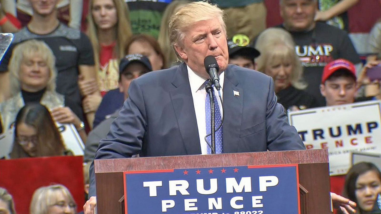 VIDEO: Donald Trump Works to Turn Campaign Around Post-Debates