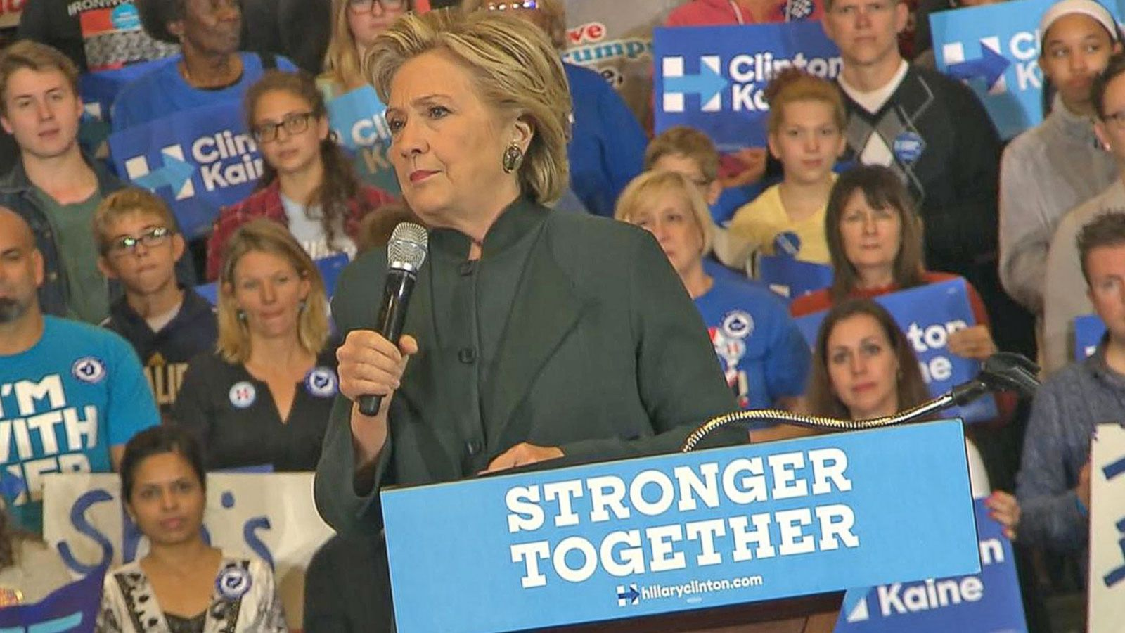 VIDEO: Hillary Clinton Victory Could Help Down-Ballot Democrats