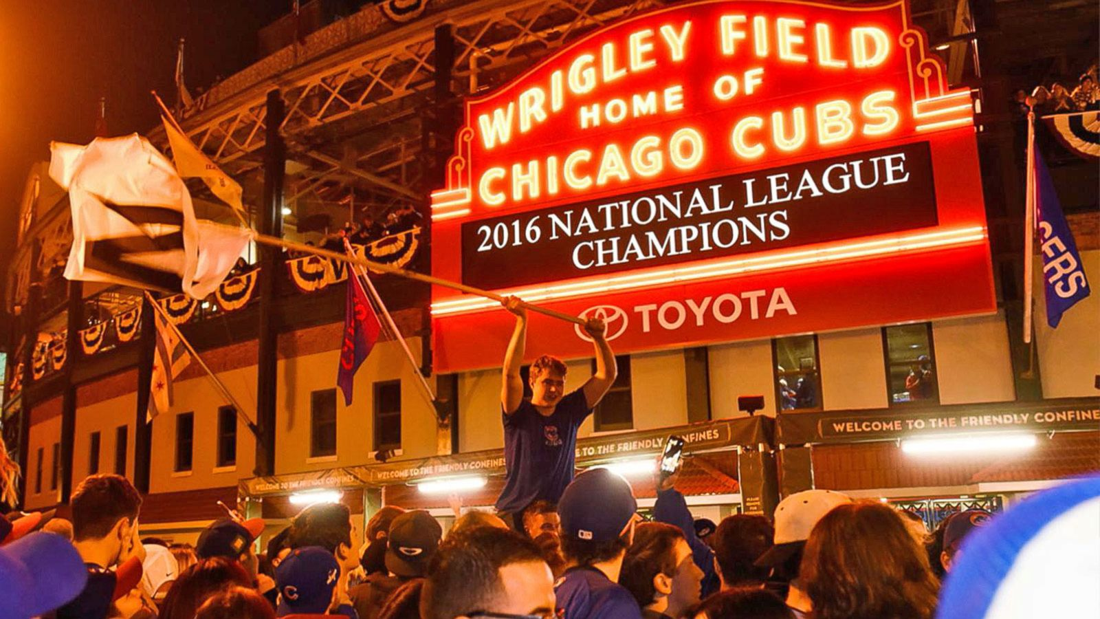 VIDEO: Chicago Cubs and Cleveland Indians Will Face Off in Historic World Series