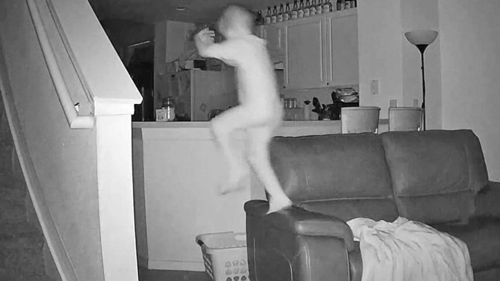 VIDEO: Video Captures Kid's Midnight Fun