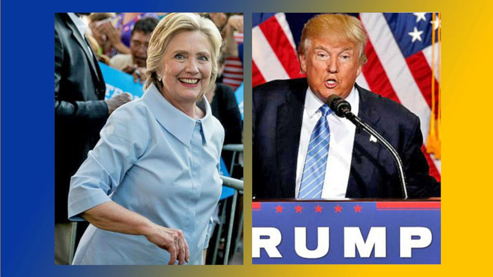 VIDEO: Hillary Clinton Leads Donald Trump by 12 in New Poll