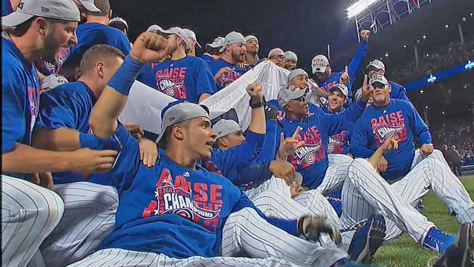 VIDEO: Chicago Cubs Win 1st Pennant Since 1945, Advance to World Series