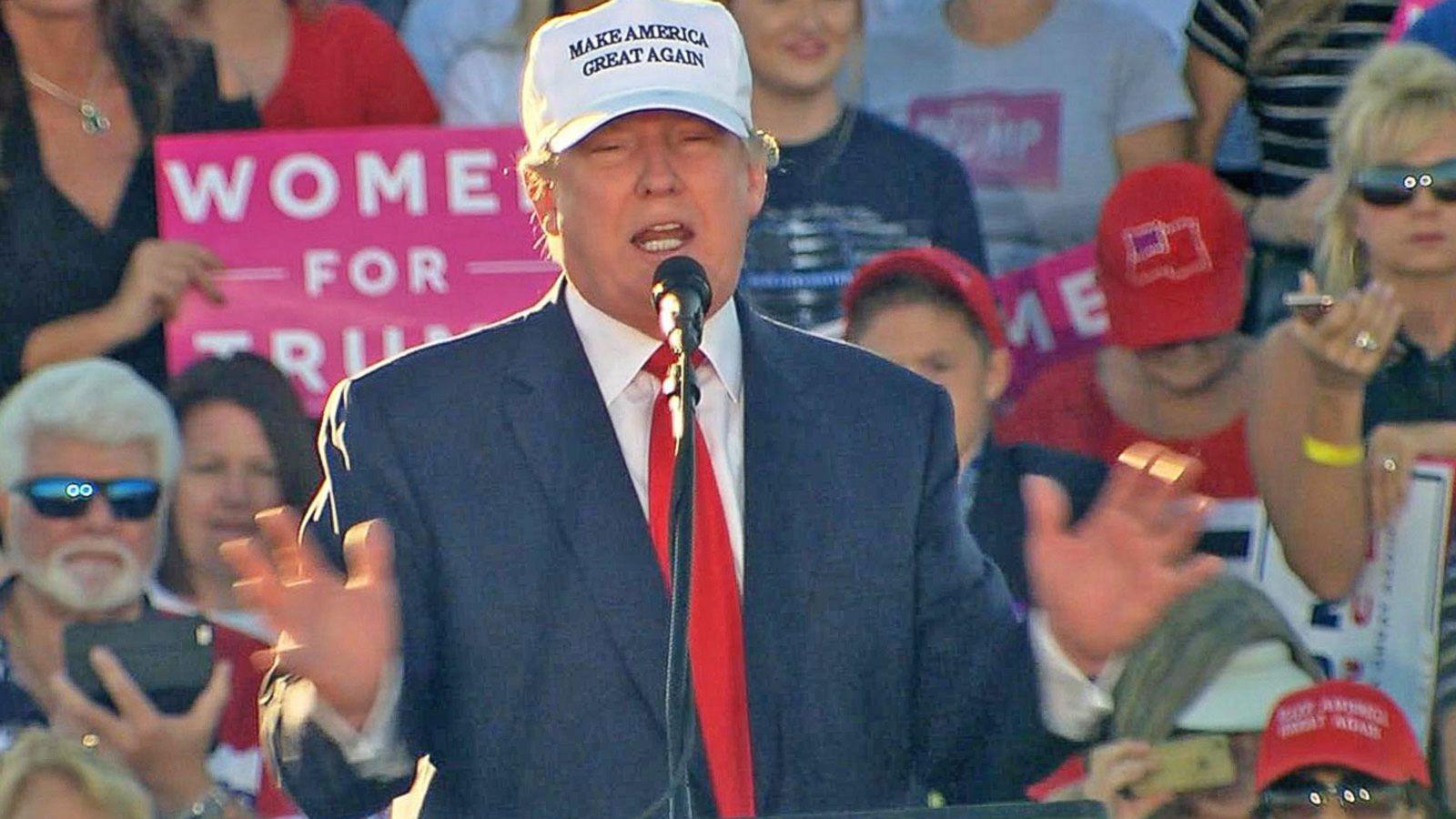 VIDEO: Donald Trump Disputes Polls, Threatens Lawsuits