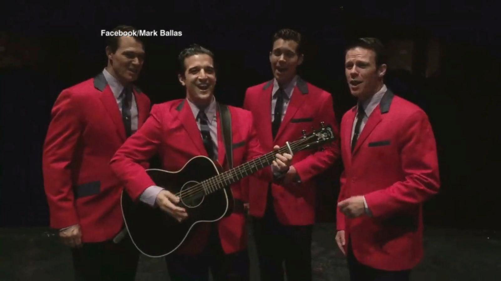 VIDEO: 'DWTS' Mark Ballas Joins Cast of 'Jersey Boys' as Frankie Valli