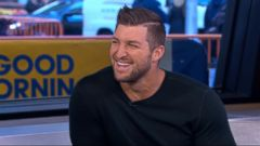 VIDEO: Tim Tebow Talks Shaken on GMA