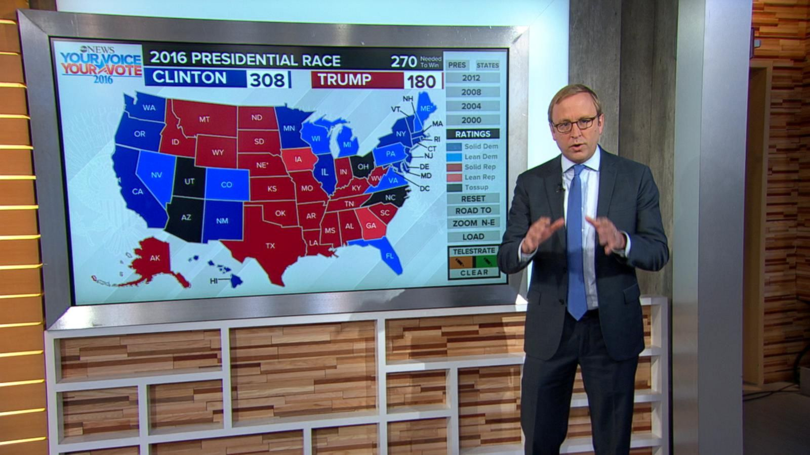 VIDEO: Hillary Clinton Holds Electoral Advantage Over Donald Trump