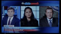 VIDEO: George Stephanopoulos on Marvels Agents of S.H.I.E.L.D.
