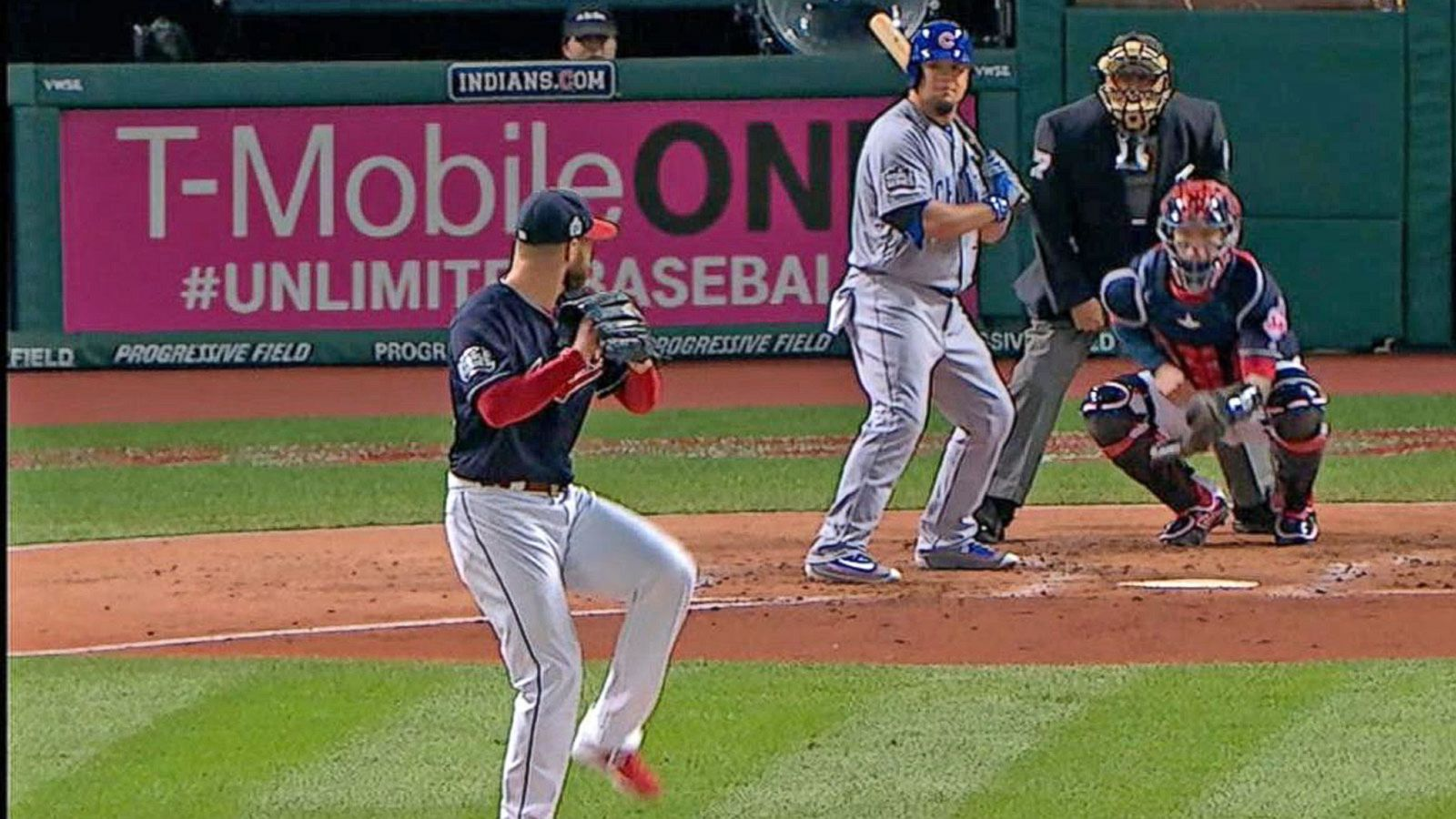 VIDEO: Indians Pitcher Corey Kluber Sets World Series Record