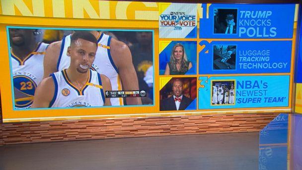 VIDEO: Golden State Warriors Debut New 'Super Team'