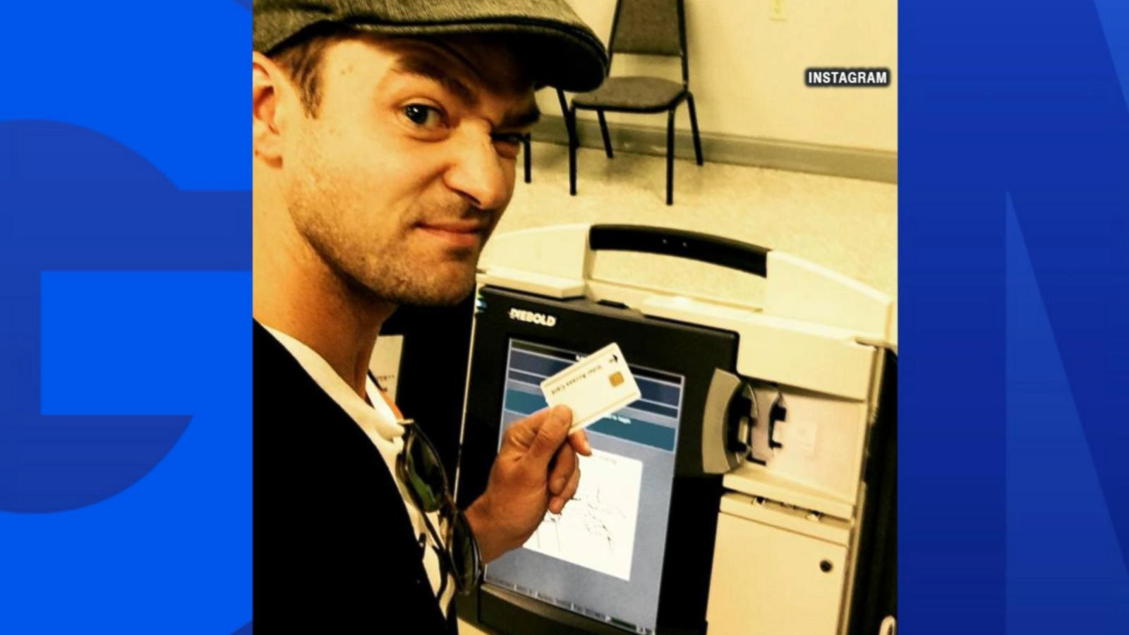 VIDEO: Singer Justin Timberlake Called Out for Voting Booth Selfie