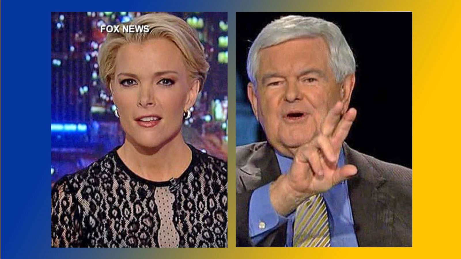 VIDEO: Newt Gingrich in War of Words With Megyn Kelly