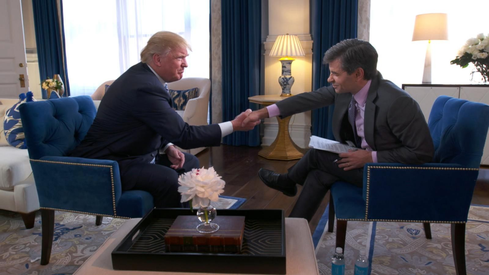 VIDEO: Full Interview: George Stephanopoulos goes one-on-one with Donald Trump