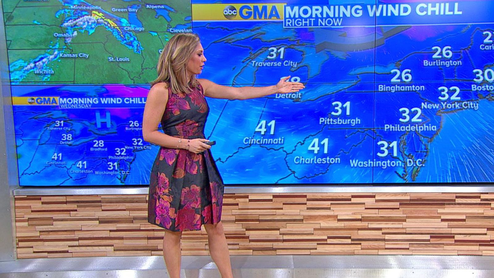 VIDEO: Cold Front Sweeps the Northeast