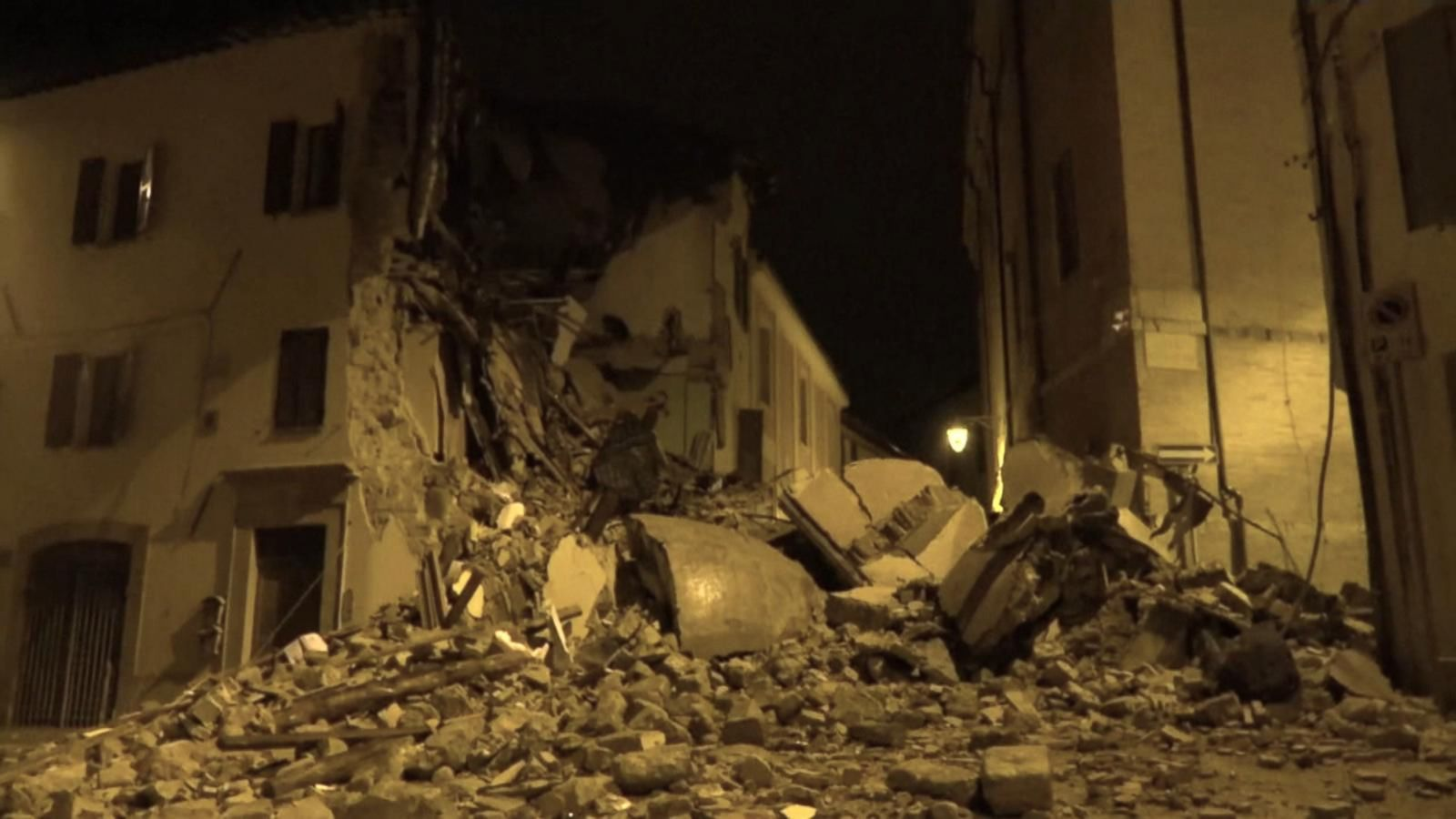 VIDEO: 2 Earthquakes Hit Central Italy Caused 'Catastrophic' Damage