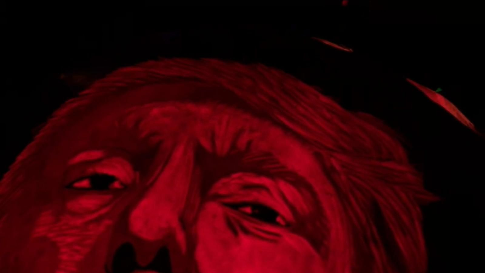 VIDEO: Political Jack O'Lanterns on Display for Halloween