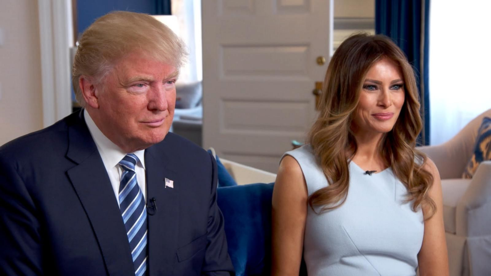 VIDEO: Donald and Melania Trump on Campaign's Best and Worst Moments