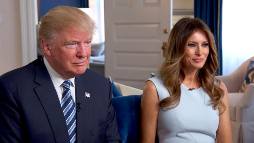 Image result for melania and donald trump