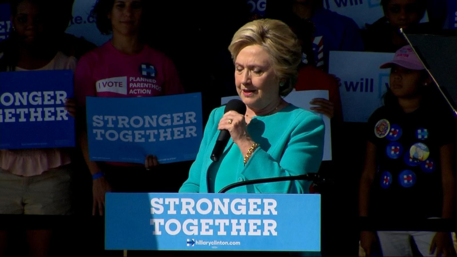 VIDEO: Hillary Clinton, First Lady Michelle Obama Hit Campaign Trail Together