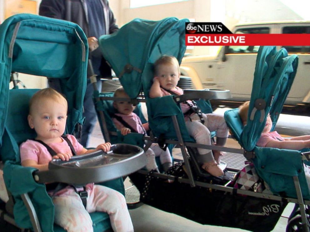 VIDEO: Watch the Busby Quintuplets Fly for the First Time