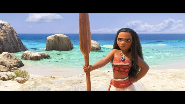 VIDEO: 'Moana' Makes Box-Office Splash Over Thanksgiving Weekend